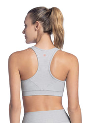 Maaji Fanatic Pure Cloud Medium Impact Sports Bra