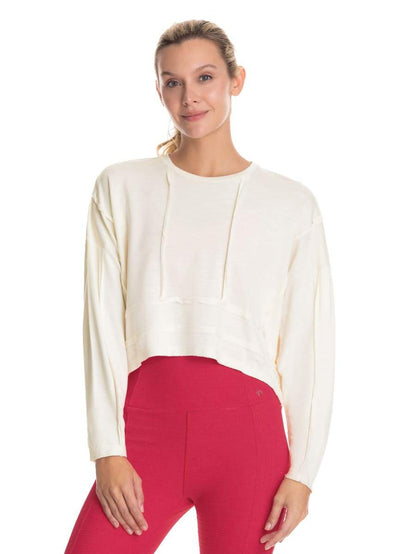 Maaji Windy Ecru Long Sleeve Top - Maaji
