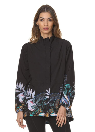Maaji Immerse Midnight Jungle Jacket - Maaji