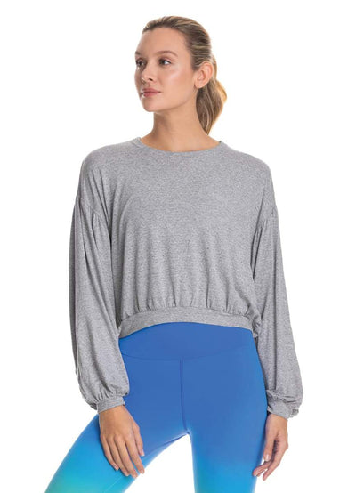 Maaji Elated Pewter Long Sleeve Top - Maaji