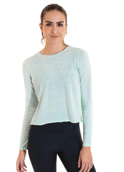 Maaji Reveal Aqua Long Sleeve Top - Maaji