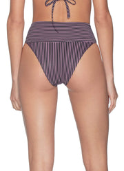 Maaji Nix Veronica Reversible High Waisted Bikini Bottom