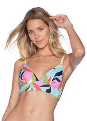 Maaji Breathless Luna Reversible Triangle Bikini Top