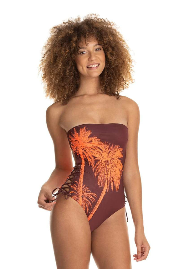 Maaji Cannon Ball Arista Bandeau One Piece