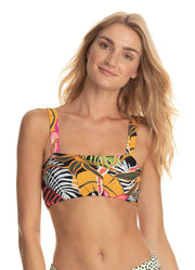 Maaji Amusing Feat 4 way Reversible Bralette Bikini Top