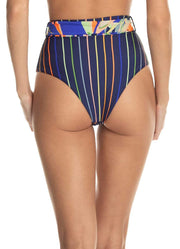 Maaji Barnum Ticket Reversible High Rise Bikini Bottom