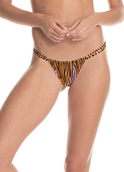 Maaji Nyala Safari Selva Split Strap Bikini Bottom - Maaji