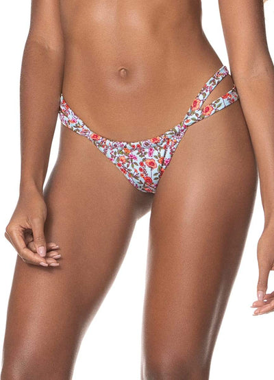 Maaji Gratitude Hope Split Strap Bikini Bottom - Maaji