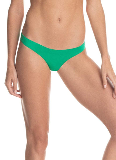 Maaji Grass Green Flirt Thin Side Bikini Bottom - Maaji
