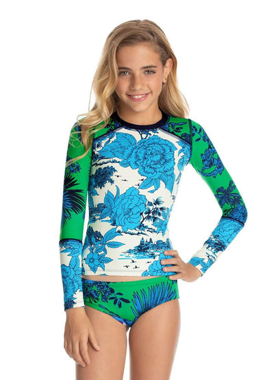 Maaji Jump Rope Girls Rashguard Set