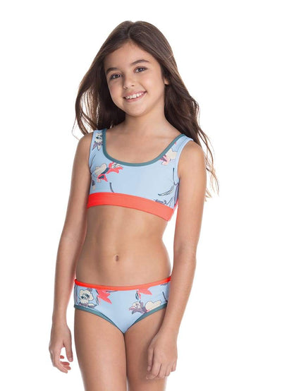 Maaji Finding Flipper 4 ways Reversible Girls Swimsuit