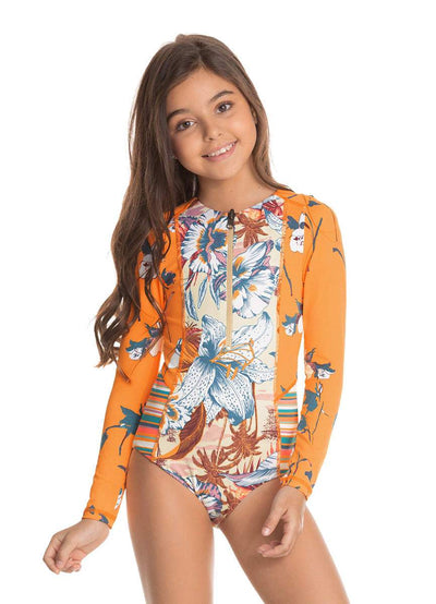 Maaji Caramel Apple Girls One Piece Set