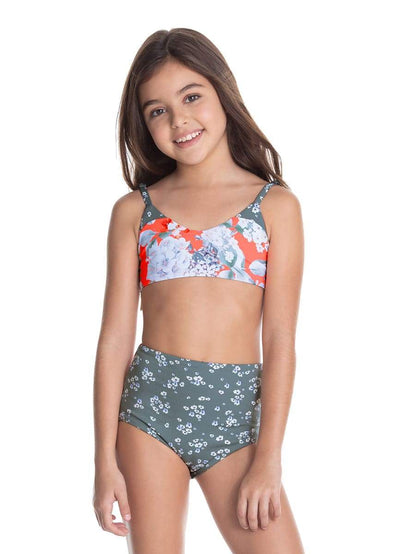 Maaji Bouquet Gift Reversible Girls Swimsuit