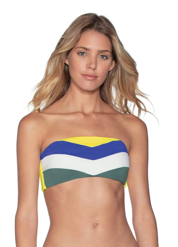 Maaji Chevy June 4-Way Reversible Bandeau Bikini Top