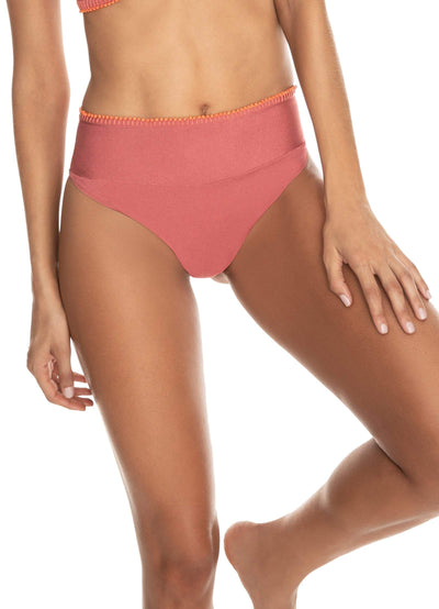 Maaji Stargazing Suzy Q Reversible High Waisted Bikini Bottom