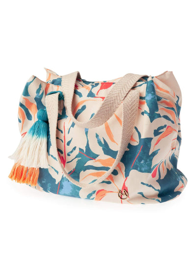 Maaji Colorful Leaves Beach Bag