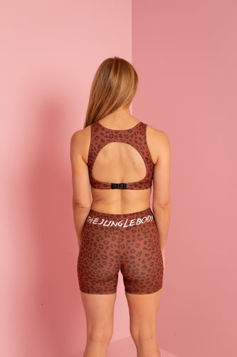 Jungle Leopard Crop - PREORDER FOR MAY 25TH DELIVERY