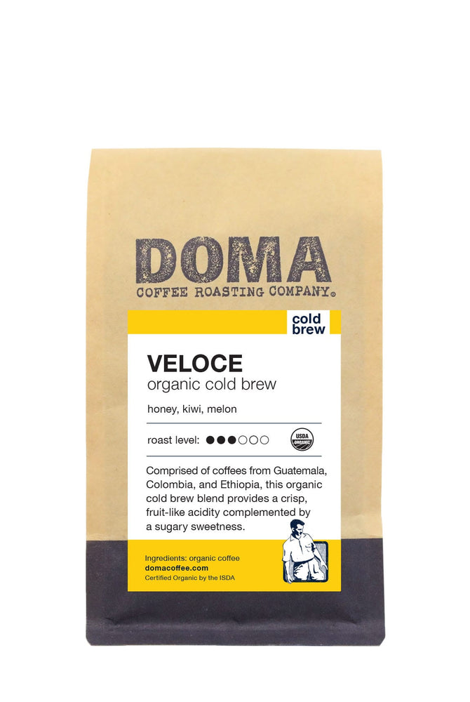 DOMA Veloce Organic Cold Brew Coffee 12oz