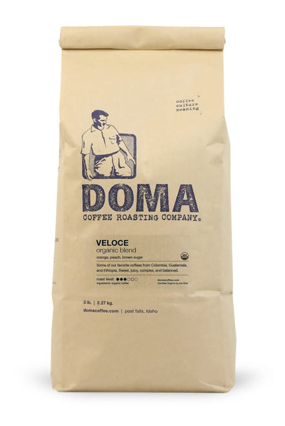 DOMA Veloce Organic Blend Coffee 5lb