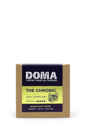 DOMA The Chronic Instant Craft Coffee