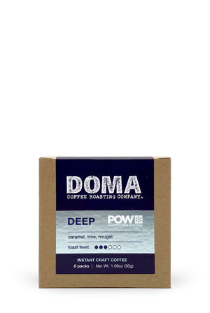 DOMA POW Deep Winter Instant Coffee