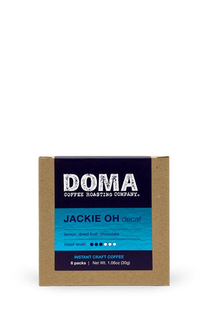 DOMA Jackie Oh Decaf Instant Coffee