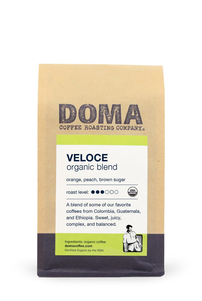 DOMA Veloce Organic Blend Coffee 12oz