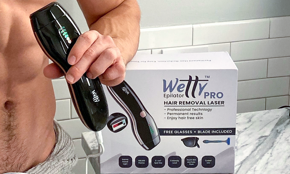 Wetty Ipl Hair Removal For Men