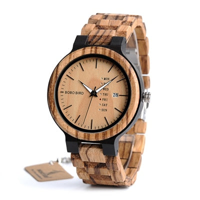 Luxury Wood Time Peice