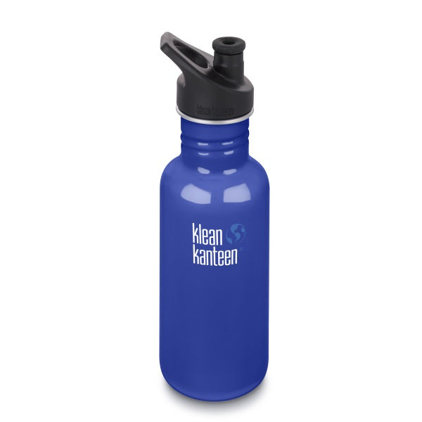 Trinkflasche Coastal Waters, 532ml von Klean Kanteen | by Anton & Sophie