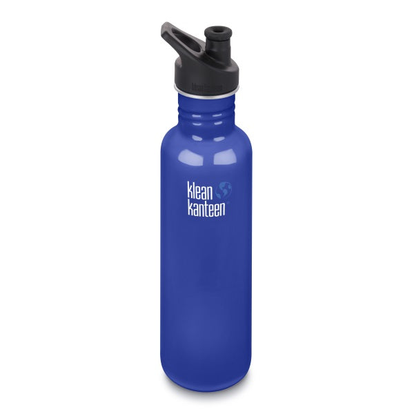 Trinkflasche Coastal Waters, 800 ml von Klean Kanteen | by Anton & Sophie