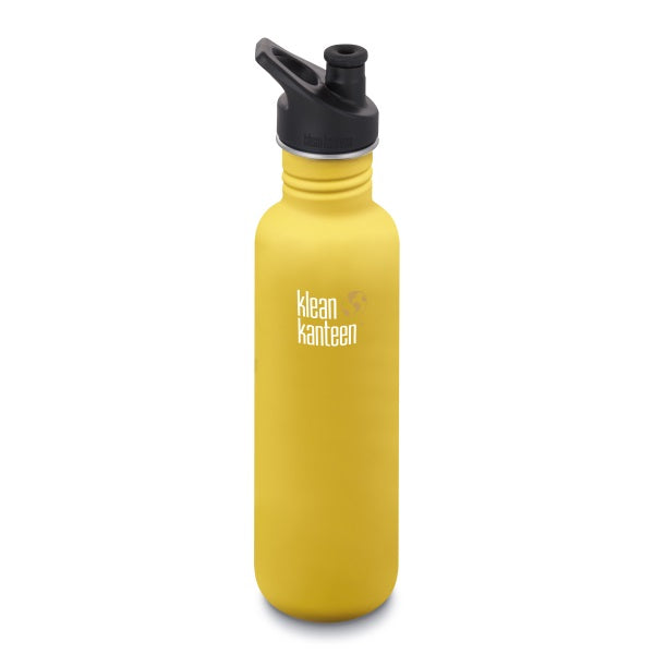 Trinkflasche Lemon Curry, 800 ml von Klean Kanteen | by Anton & Sophie