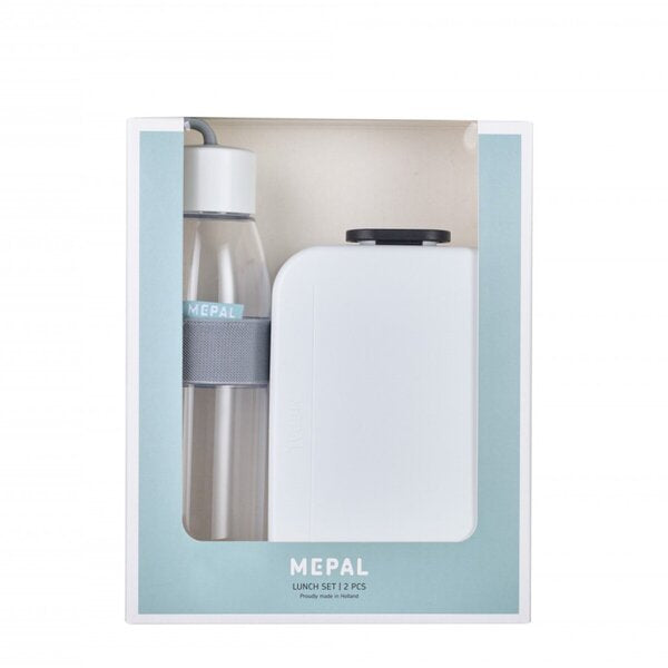 MEPAL AKTIONSSET Lunchbox (Take a Break midi) und Trinkflasche (Ellipse 500 ml)