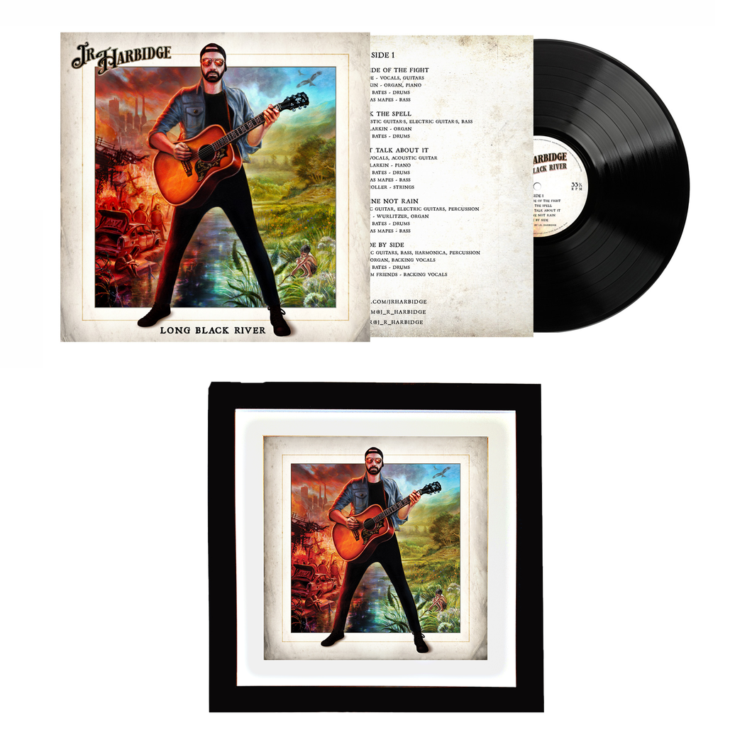 Vinyl LP and Art Print Bundle LIMITED