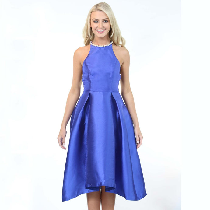 Vivianne Dress Blue - MSC The Store