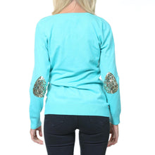 Load image into Gallery viewer, Janet Sweater Turquoise - MSC The Store