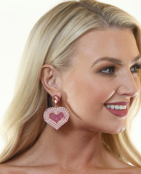 Pippa Earring Pink - MSC The Store