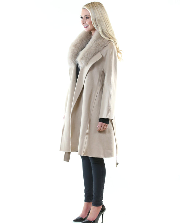 Penelope Coat Beige *Pre-Order* - MSC The Store