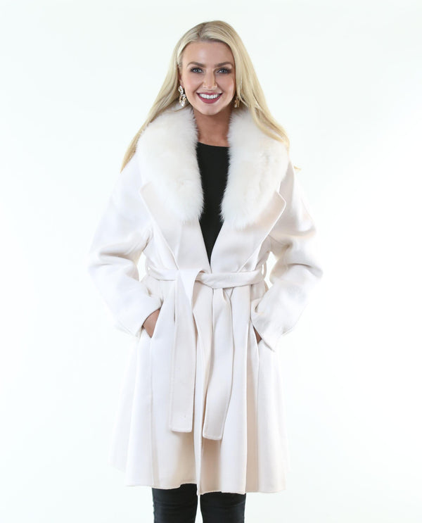 Penelope Coat Cream *Pre-Order* - MSC The Store