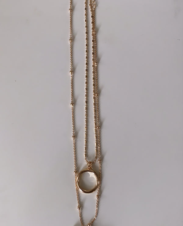 PREORDER Sheena T bar Necklace