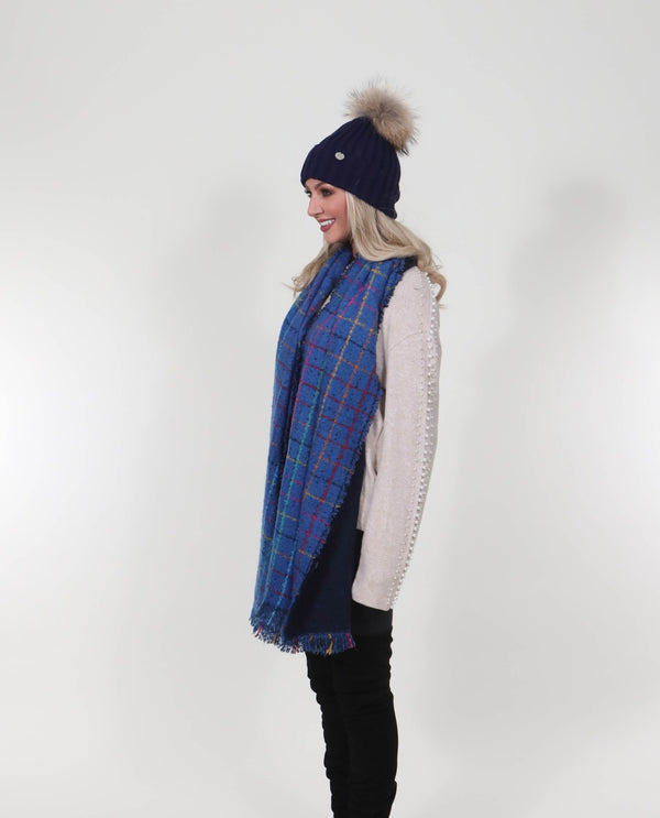 Katie Scarf Blue - MSC The Store