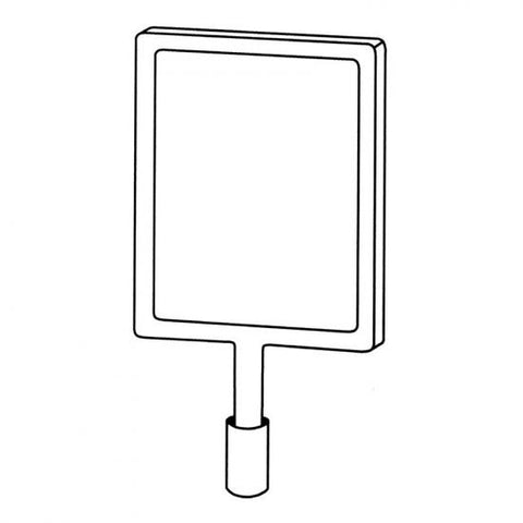 A4 Portrait Signage Holder