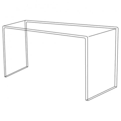 Large Acrylic Display Bridge