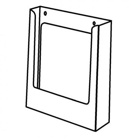 Portrait A5 Brochure Holder Without Clips