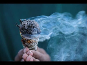 GROUNDING Sage + Crystal Spray