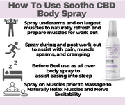 Soothe CBD Body Spray