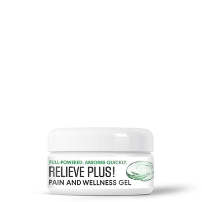 MINI Relieve Plus! CBD Wellness Gel - NEW
