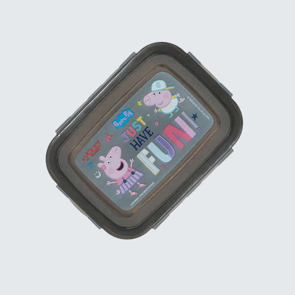 Youp stainless steel Black color Peppa Pig kids lunch box PPL8015 - 600 ml