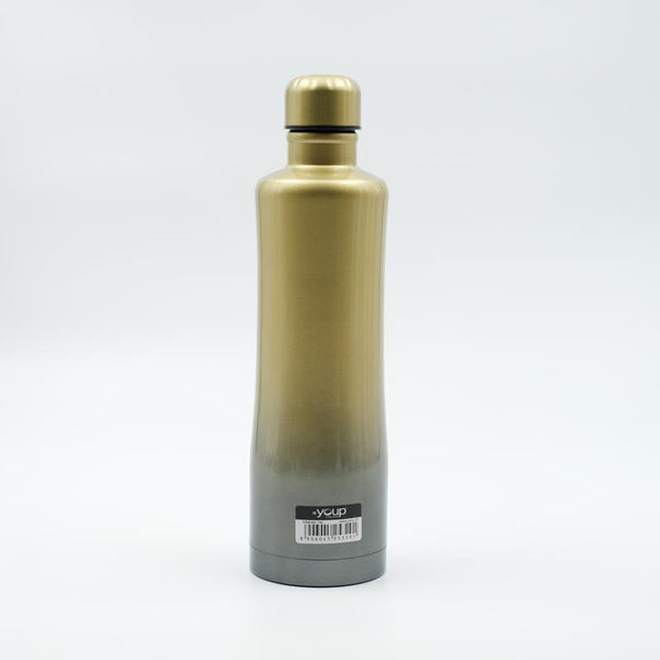 Youp Thermosteel green and grey color water bottle YP754 - 750 ml