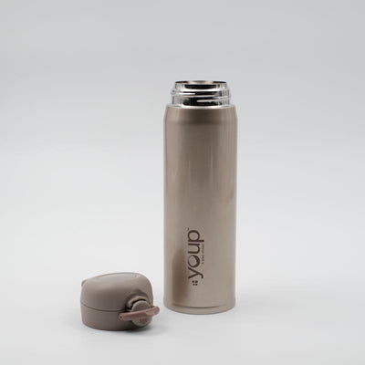 Youp Thermosteel gold color water bottle YP508 - 500 ml